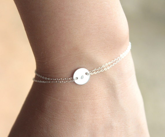 Monogram bracelet  - Sterling silver