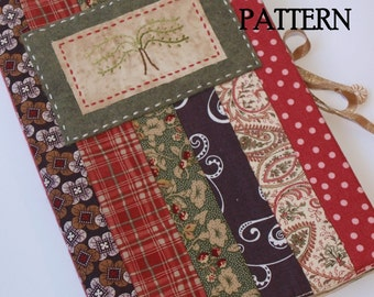 Journal Cover PDF Pattern, Direct Download - 'Willow Tree'