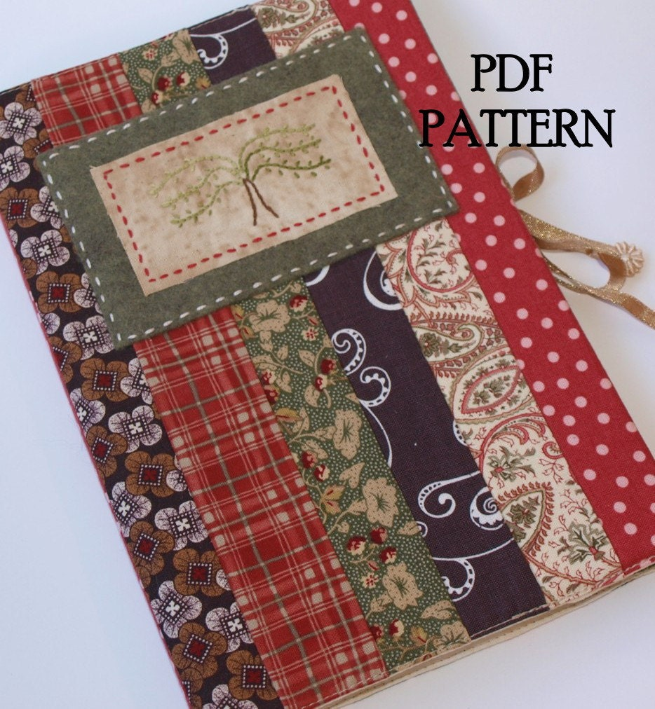 Journal Cover PDF Pattern Direct Download 'Willow