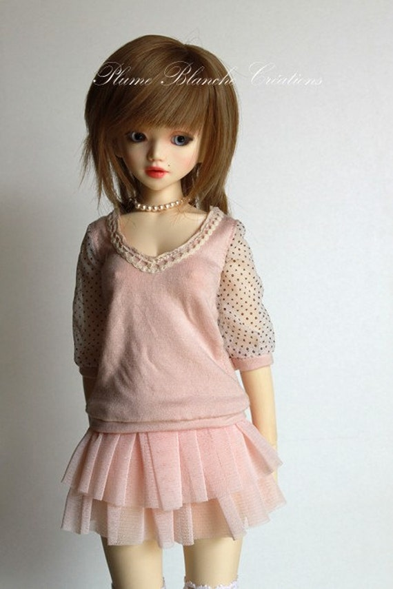 Pink sweater for unoa, minifee and narae