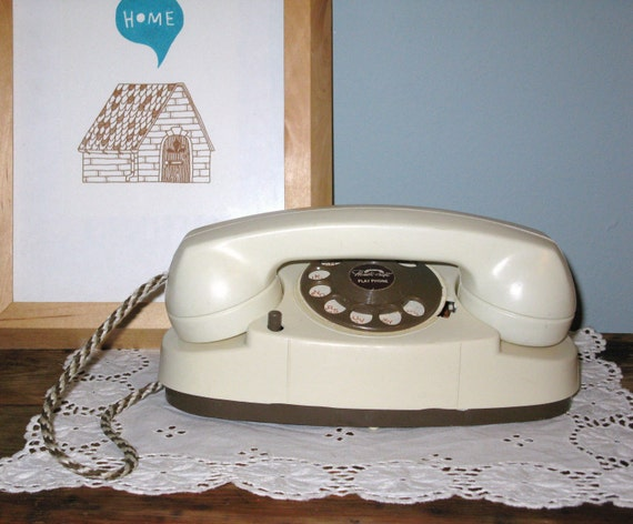 Vintage Handi-Craft Play Phone