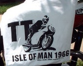 1966 Isle of Man Motorcycle T Shirt Triumph MV Agusta