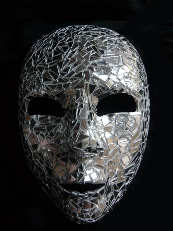 Venetian Carnival Shard Mirror Mask Full Face