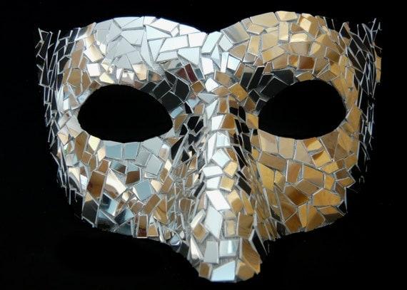 Venice Carnival Mirror Mask