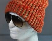 Vintage  Crochet Winter Hat