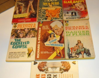 Lot 2 Assorted Authors Pulp Fiction, Prather, Spillane,Gardner