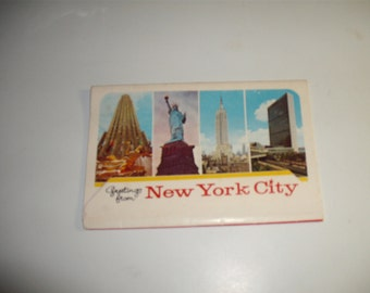 1960's New York city Travel Souvenier