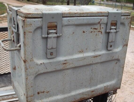 WWII Ammo Metal Lock Box