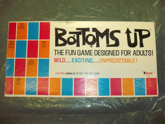 Vintage 1969 'Bottoms Up' Adult Game