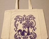 Canvas Tote Bag - Forage Design