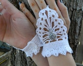 Steampunk fingerless gloves SM/MD