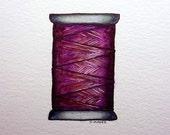 Original Purple Cotton Reel