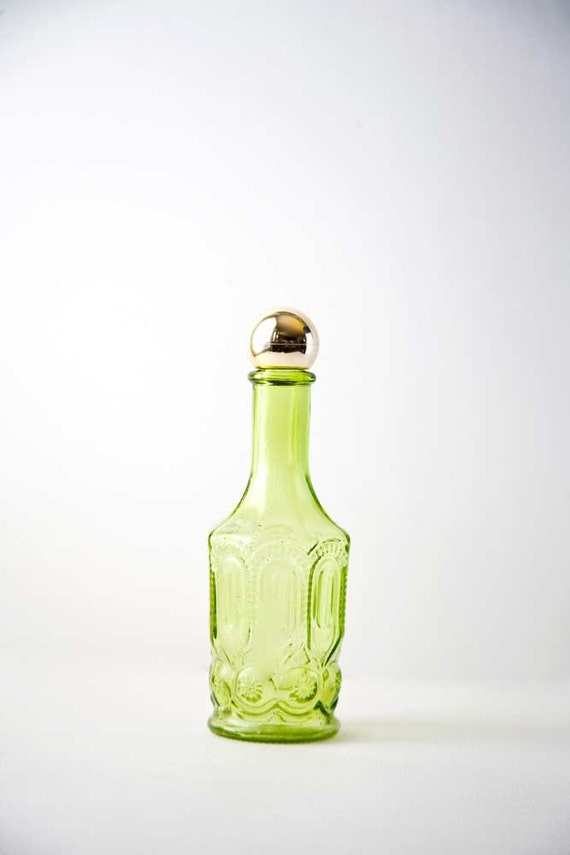 SALE - 1970s Lemon Velvet Avon Bottle