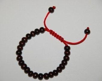 Tibetan Rosewood Wrist Mala/ Bracelet for meditation