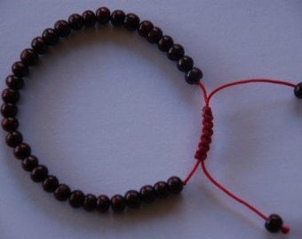 Small Rosewood Wrist mala/ Bracelet for meditation 5.5mm