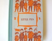 Vintage Little Men 1950s Hardcover Book