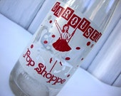 Vintage Carousel Pop Shoppe Soda Bottle