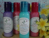 Honeysuckle Kiss--EXTRA Moisturizing CREAMY and RICH--Goats Milk-Cocoa Butter and Aloe--Hand and Body Lotion