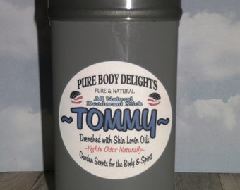 TOMMY BOY--All Natural Deodorant,Loads of Skin Lovin Oils and Butters--Made from Scratch--BIG 4 oz.size---This ones for All U SEXY GUYS