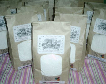 SPECIAL Natural VEGAN Friendly Laundry Soap -500 to 1000 Loads---4 HUGE JUMBO BAGS--PLUS--2 FREE BONUS BAGS---Fantastic on Cloth Diapers---Mama Pads and the Whole Families Laundry--Over 3 YEARS of LAUNDRY SOAP---BIGGEST and BEST DEAL ON ETSY---Or ANYWHERE