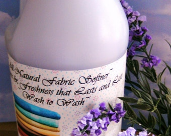 LAVENDER and LILAC--Natural Earth-friendly Clothing Fabric and Linen Softener Refresher---Wonderful on Bed sheets, linens and towels