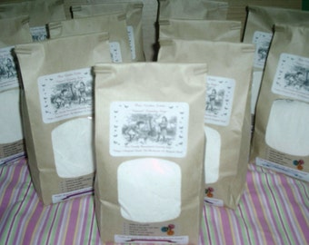 Natural VEGAN Laundry Soap--500 to 1000 Loads--4 JUMBO Bags--2 FREE Bonus Bags--Great on Cloth Diapers--Over 3 Years of Laundry