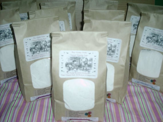 SPECIAL-- Peppermint Twist---Natural Vegan Laundry Soap -100 to 200 Loads--BIGGEST Deal on ETSY