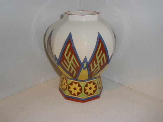 Old Arabia Fennia Art Nouveau Vase Museum Quality