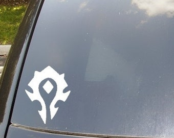 WoW Horde Symbol Decal Car Sticker