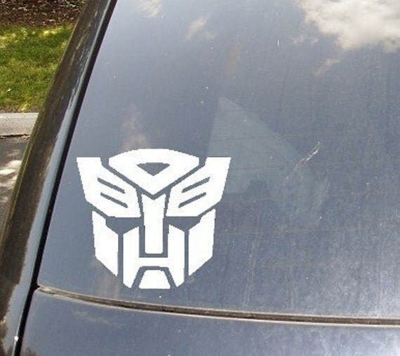 Autobots Car Decal