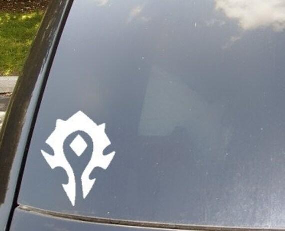 WoW Horde Symbol Decal Car Sticker
