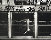 NYC Subway Photo 1980s - Knife by TheConnArtist