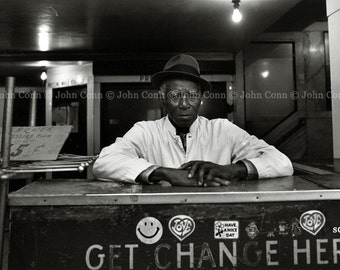 NYC Subway Photo 1980s - Change by TheConnArtist