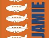 VROOM VROOM series- Customized Name With Plane