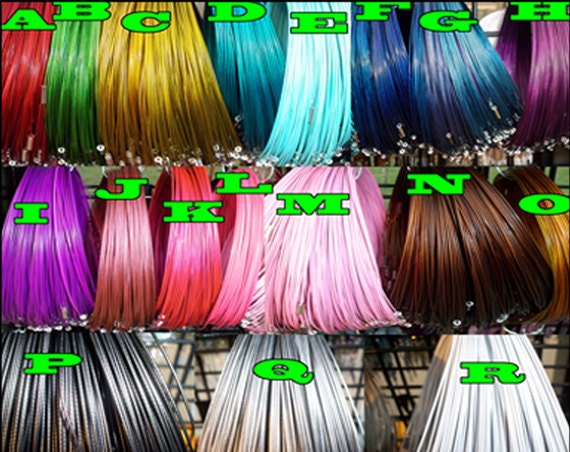 Wire Choker Necklace, Memory Wire Necklace - QTY 20 - PICK your COLORS