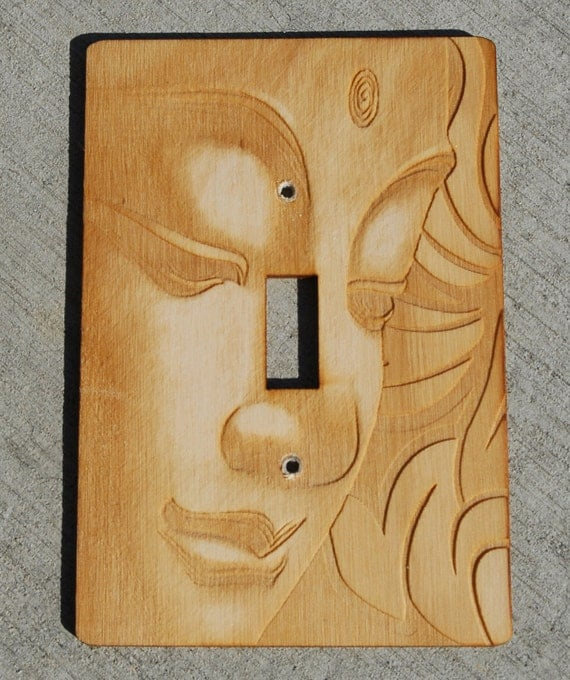 Items Similar To Buddha Light Switch Plate On Etsy