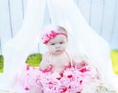 Head over Heels couture vintage inspired fabric rosette headband flower headband