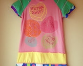 Karnival Kids Classic Upcycled Dress - Extra Sweet - Sz 5