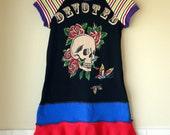 Sz 7/8 - Karnival Kids Double Layer Twirl Dress - Devoted Tattoo