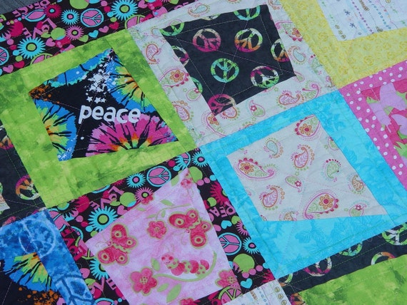 Bohemian Baby Quilt