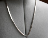 Vintage Silver Sarah Coventry Chain necklace