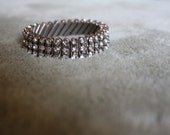 Sale Rhinestone Made in British Hong Kong Bracelet/ Bridal Jewelry