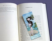 Botticelli's Venus illustrated bookmark