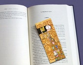 Original Nextlola's illustrated bookmark inspired by Klimt's Tree of Life