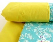 Sun and Sky cotton floral Baby Blanket, Baby Easter gift, two face blanket
