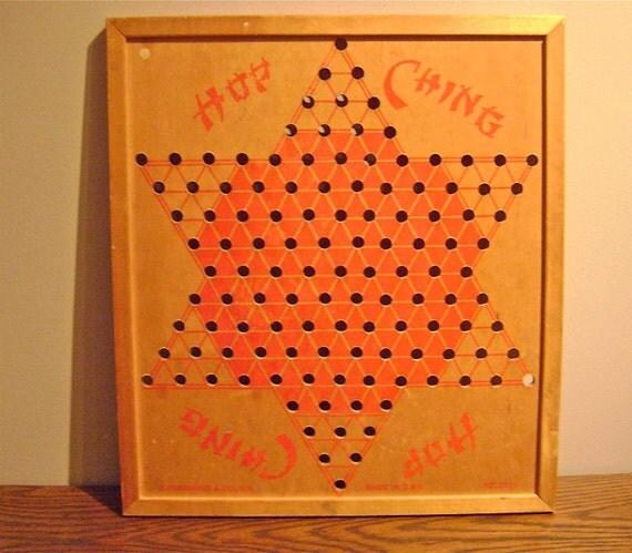 Vintage Wooden Gameboard
