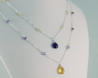 Mother and Daughter Necklaces - Custom made for you and your little girl