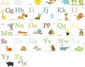 SPECIAL PRICE -  Alphabet Prints Set