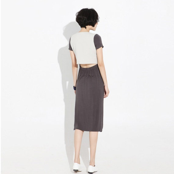 Silhouette dress J074