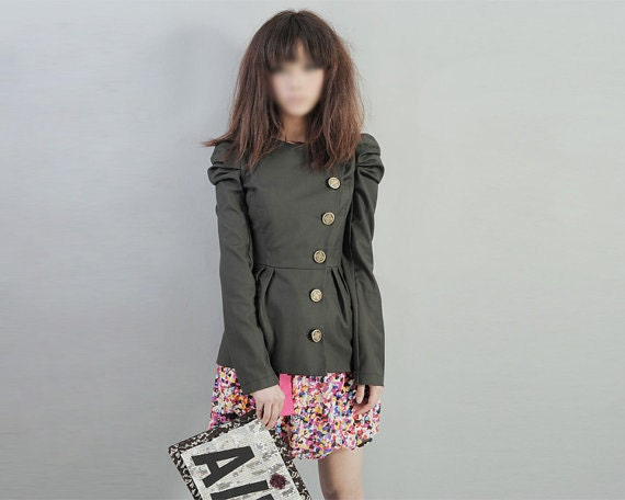 Cotton jacket J029